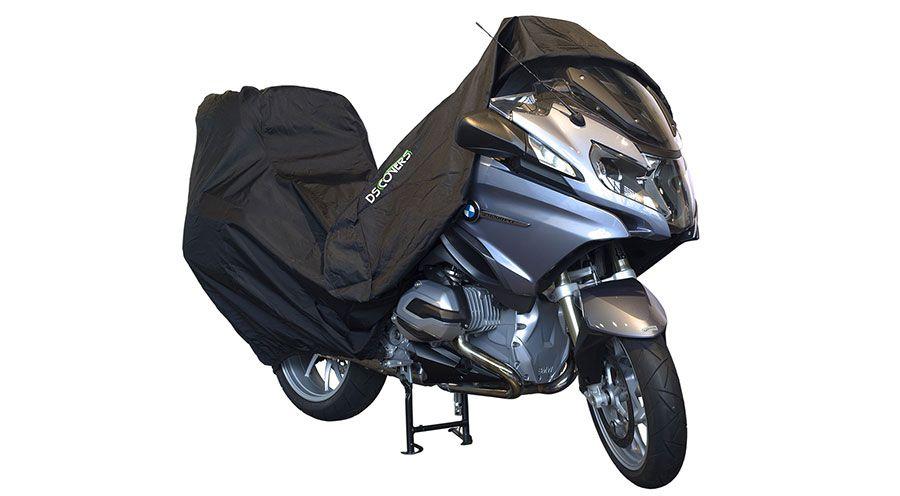 Funda de exterior para moto con topcase para bmw r850r for Bache moto exterieur