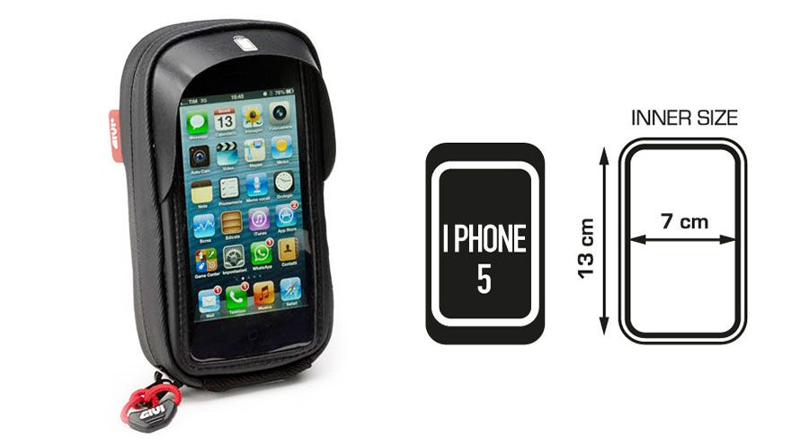 BMW R nine T Bolsa para iPhone4, 4S, iPhone5 y 5S