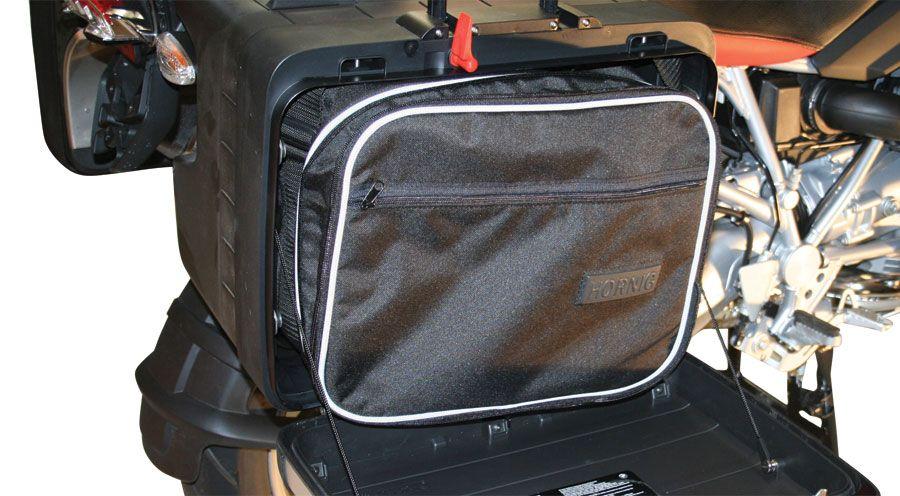 bolsas para maletas vario para bmw r1200gs lc 2013. Black Bedroom Furniture Sets. Home Design Ideas