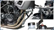 BMW F750GS & F850GS Aluminio, Acero inoxidable