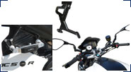 BMW F800R Aluminio, Acero inoxidable