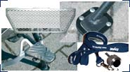 BMW R850GS, R1100GS, R1150GS & Adventure Aluminio, Acero inoxidable