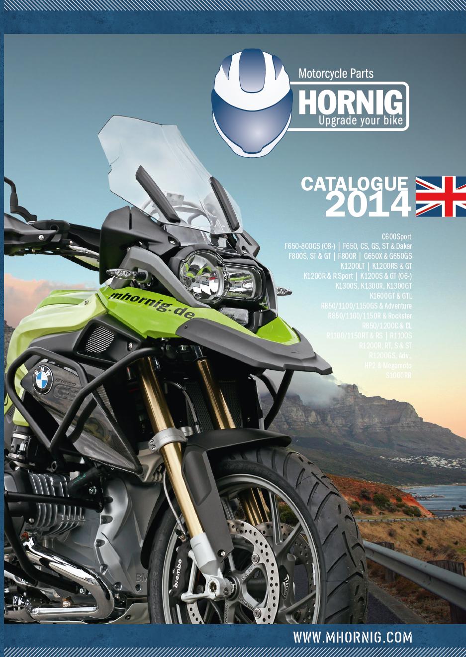 Catalogo de accesorios 2014 para motocicletas bmw de for Catalogo de accesorios