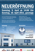 BMW Motorcycle Accessory Hornig Openingparty Poster